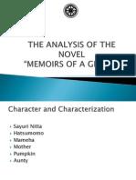 Analysis of the Novel Memoirs of a Geisha (Power Point)