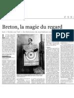 Breton, La Magie Du Regard, Le Monde