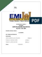 iNFORME Amplificadores Multietapa EC-EC