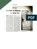 Nouvelles Littéraires, Armand Hoog sur Breton