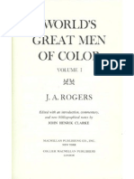 The Worlds Great Men of Color, Volume 1