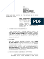 Alimentos Maria Vargas Calderon Caso 1111