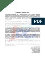 Programa EsTiempodeTodosJDC