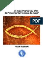 El Movimeinto histórico de Jesús -Pablo Richard-