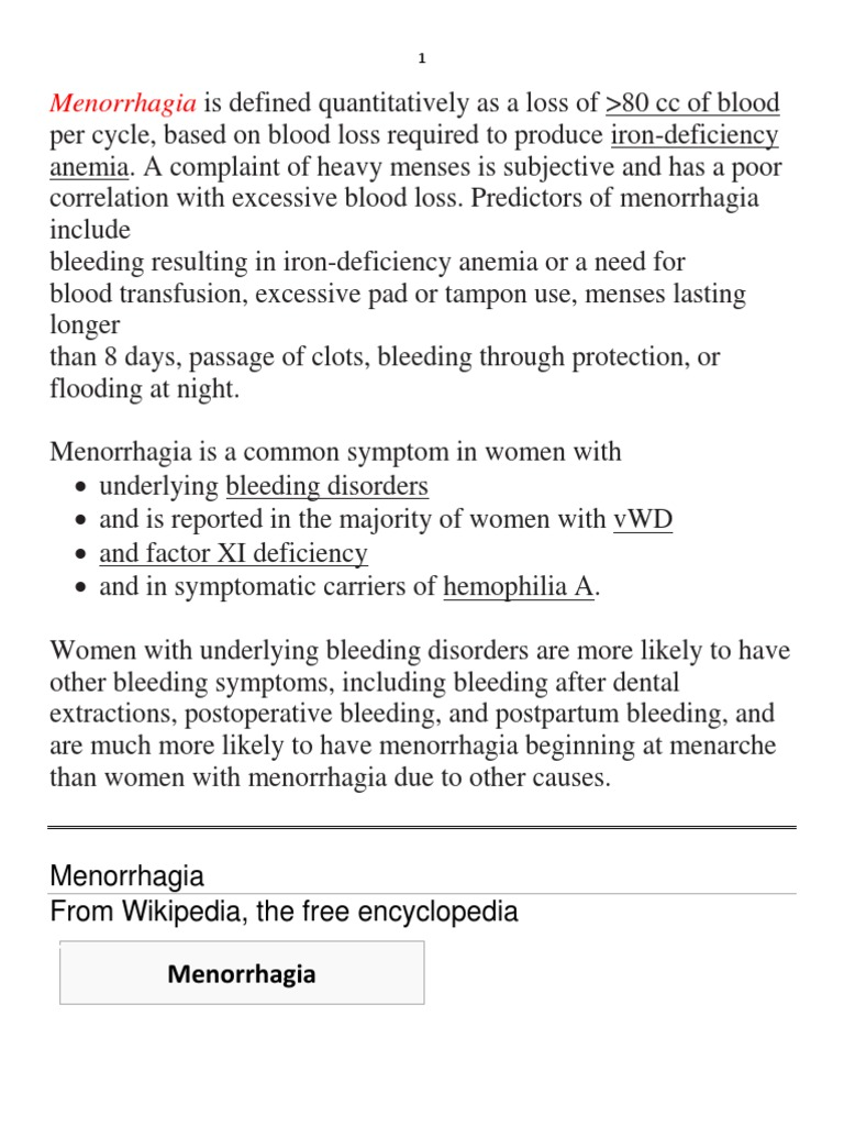 Menorrhagia - what it is and how to treat it 56