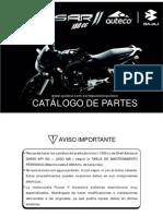Pulsar II Catalogo Partes