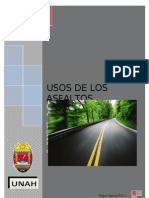 Usos de los asfaltos