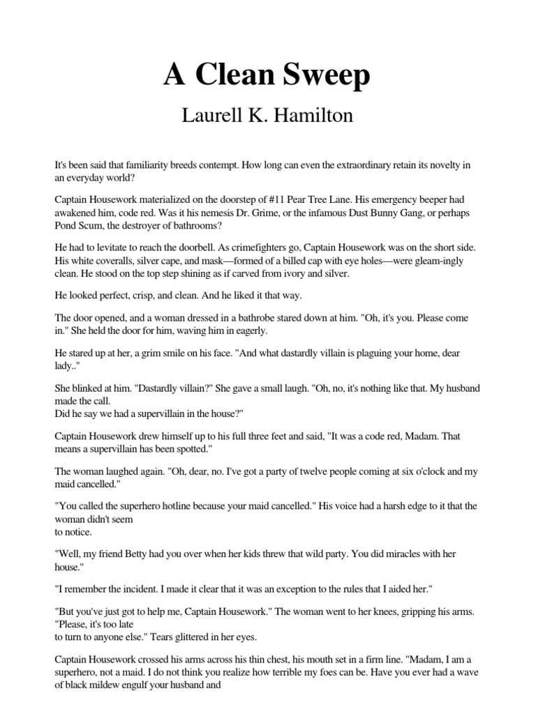Laurell K  Hamilton - A Clean Sweep