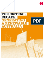 Climate Commission - Renewable Australia report