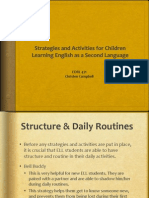 Strategies & Activities for ELL students