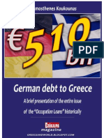 510 Billion EUR German Debt to Greece (Occupation Loan)