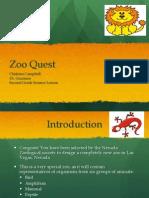 2nd Grade Zoo Webquest
