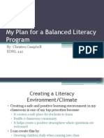 My Balanced Literacy Program