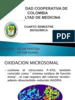 OXIDACION MICROSOMAL