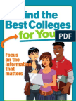 Find the Best Colleges for You