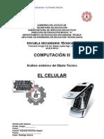 Analisis Sistemico de Objeto Tecnico El Celular