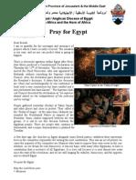Egypt Prayer Request (24 November 2012)