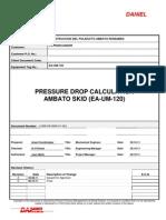11058-09-0905!01!001 - Pressure Drop Calculation-Ambato Skid