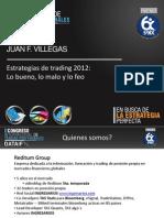 Reditum, Estrategias de Trading 2012 Version 2