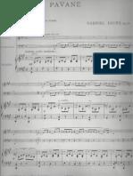 Pavane Fauré pour trio