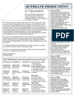 GHS December Newsletter (front)