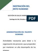 CLASE 10- 11. ADMINISTRACIÓN DEL TALENTO HUMANO
