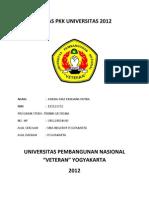 Tugas Pkk Universitas 2012