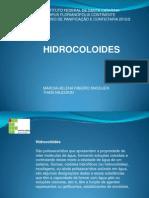 PPT hidrocoloides