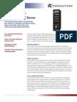 Sonata SE MSC Server Datasheet
