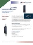 iCell COMPAC 1X IP-RAN Datasheet