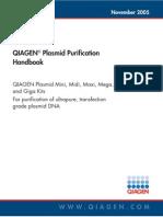 QIAGEN Plasmid Purification Handbook