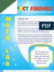 Fact Finders Brochure