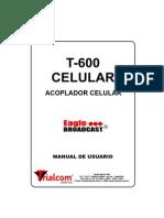 Acoplador Celular Modelo T 600