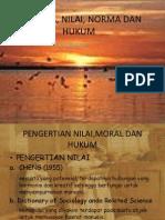 Manusia, Nilai, Norma Dan Hukum