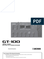 GT-100 PT pacthes