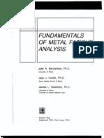 Fracture & Fatigue - Fundamentals of Metal Fatigue - Bannant