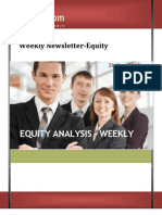 Weekly Newsletter-equity 26nov2012
