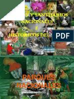 Parques y Santuarios Nacionales