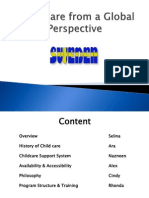 Child Care From a Global Perspective