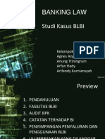 Business Law - Presentasi Kasus BLBI