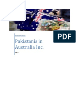 Pakistanis in Australia Inc Constitution 2012