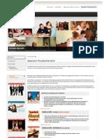 Spanisch Einzelunterricht Privatunterricht