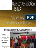 STUDENT NURSES' ASSOCIATION(SNA),MANIPAL