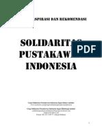 Naskah Aspirasi-Rekomendasi Solidaritas Pustakawan Indonesia