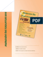 ORGANIZACIÓN DEL EVENTO MERCADO TOSANTOS