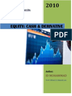 EQUITIES- Cash & Derivative
