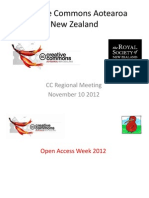 CC Aotearoa New Zealand 10 Min Presentation -- Asia Pacific Conference