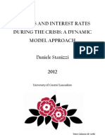Policies and Interest Rates During the Crisis