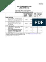 APICS CPIM Study Resources 2010 With Prices SMR