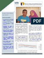 Defence for Children International-Palestine's monthly bulletin on detention -  Issue 34 - October 2012